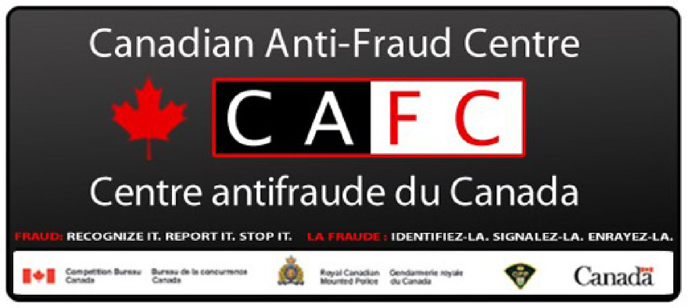 Image of Canadian Anti-Fraud Centre graphic
