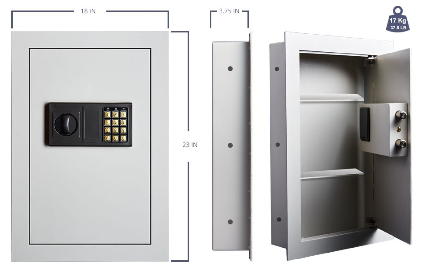 Image of wall safe
